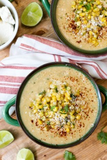 Mexican Street Corn Soup